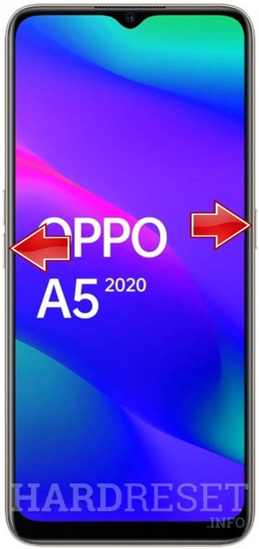 طريقة عمل إعدادات المصنع ومسح البيانات لهاتف اوبو OPPO A5 2020