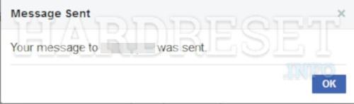 Messenger Send Message