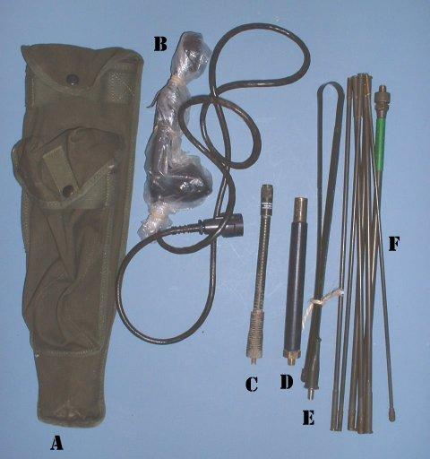 Conjunto de accesorios básico.