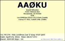 EQSL_AA0KU_20160423_090000_40M_JT65_1