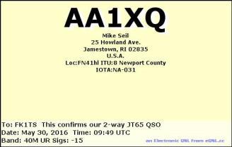 EQSL_AA1XQ_20160530_094900_40M_JT65_1