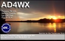 EQSL_AD4WX_20160424_081000_30M_JT65_1