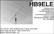 EQSL_HB9ELE_20160528_050400_30M_JT65_1