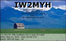 EQSL_IW2MYH_20160521_060300_30M_JT9_1
