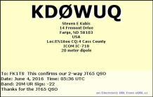 EQSL_KD0WUQ_20160604_053800_20M_JT65_1