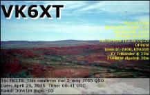 EQSL_VK6XT_20160429_084100_30M_JT65_1