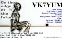EQSL_VK7YUM_20160415_230400_20M_JT65_1