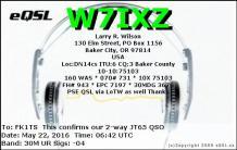 EQSL_W7IXZ_20160522_064400_30M_JT65_1