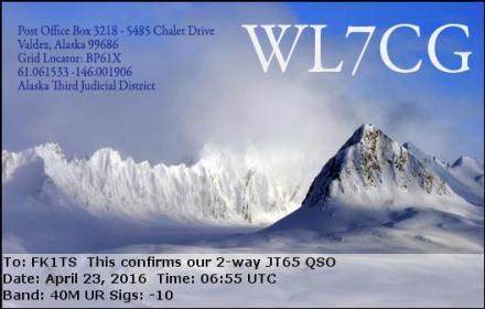 EQSL_WL7CG_20160423_065500_40M_JT65_1