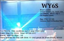 EQSL_WY6S_20160519_070100_40M_JT65_1