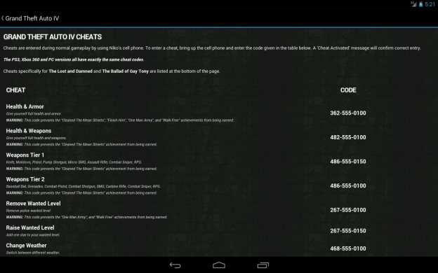 Trucchi GTA V 5 Xbox 360 PS3 Gratis Su Android IPhone IPad Guida