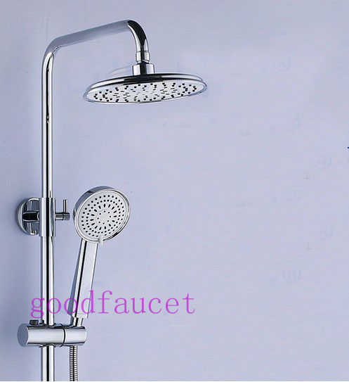 Luxury Modern Shower Set Faucet Full Brass Shower Head