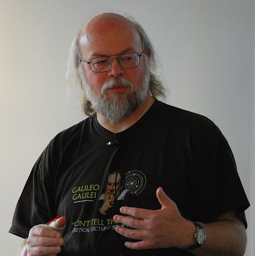 James Gosling. Foto: Peter Campbell