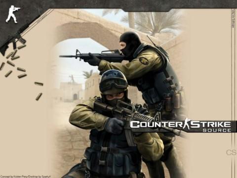 Counter Strike (Source): simples, básico e leve, mesmo para os padrões da sua época de lançamento.