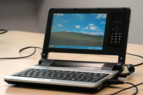 Via Nanobook, um protótipo do que poderia ser os novos netbooks.