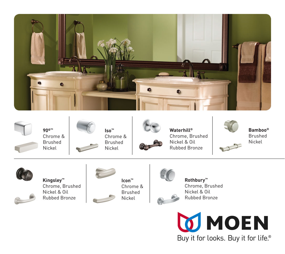 Moen Knobs & Pulls