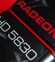 XFX RADEON HD 5830 1GB GDDR5