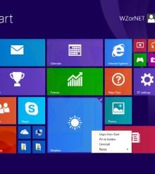 Latest Windows 8.1 Update 1 screenshots show changes to Start screen