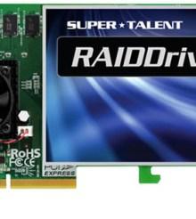 Eight SSDs team up on Super Talent's RAIDDrive II Plus PCIe drive