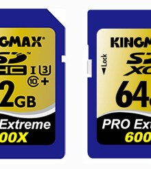 KINGMAX unveils all new Pro Extreme SDXC memory cards