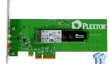 Plextor M6e 256GB PCIe SSD Review