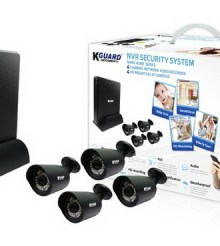 KGUARD MARS Home MH-4140 NVR Security System Review