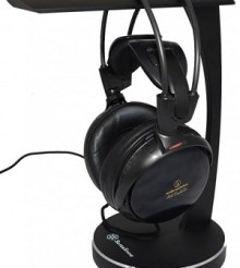 SilverStone Hi-Fi Audio Headphone Stand Review