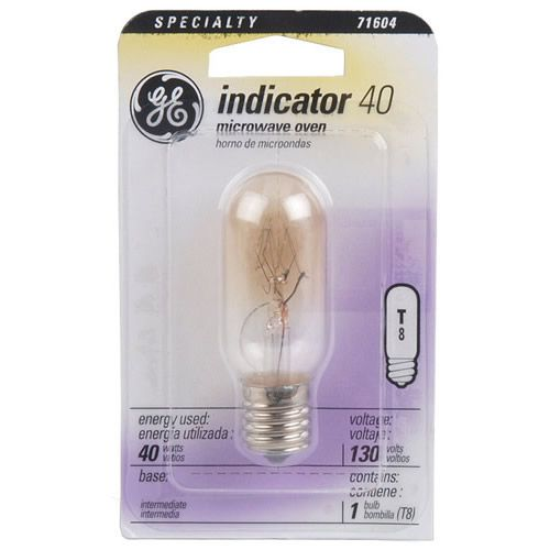 Microwave Change Bulb Ge Light