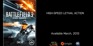 Battlefield 3 End Game Locandina