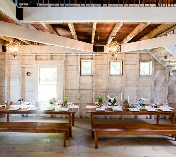 Maine Barn Weddings: A Rustic Elegant Dinner - Maine Barn ...