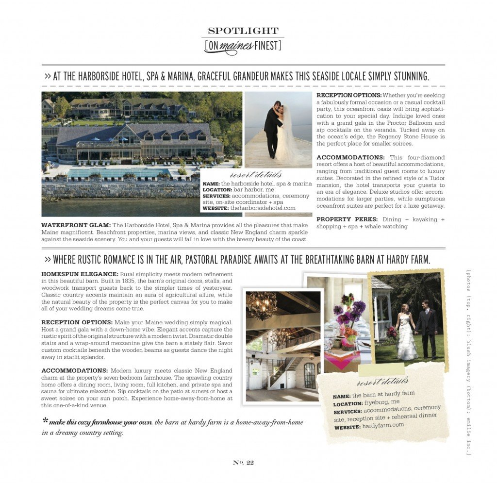 Hardy Farm Well Wed Magazine Feature