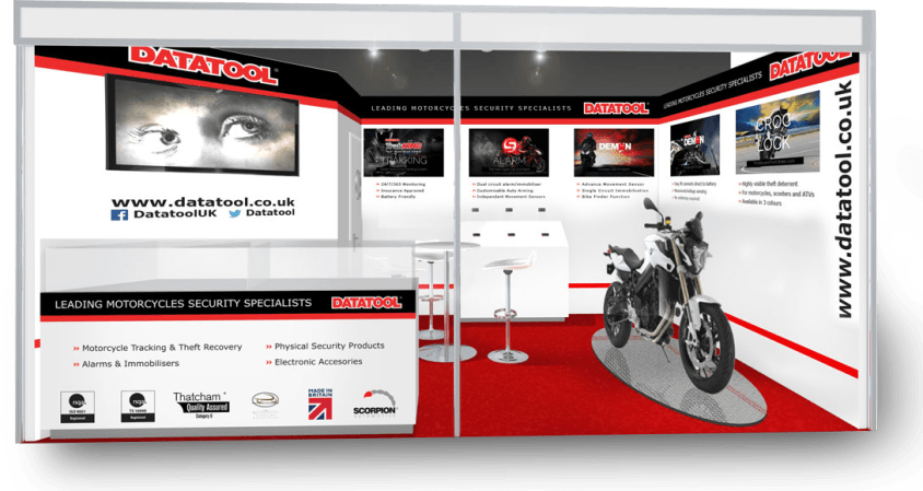 datatool exhibition stand