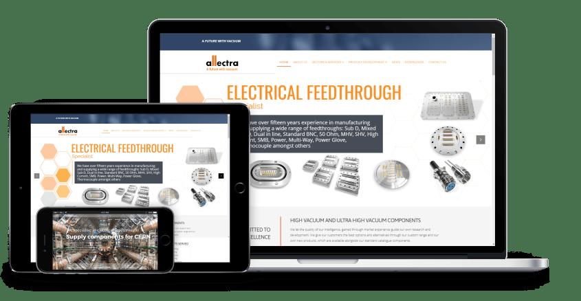 case study - allectra website