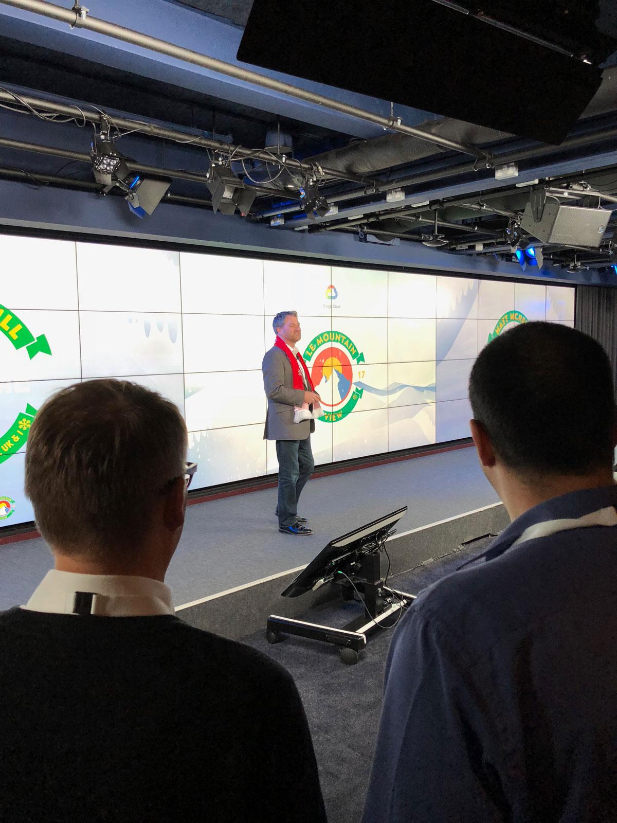 head of google cloud UK