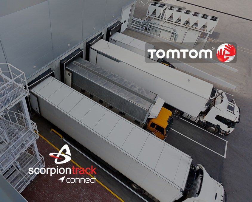 tomtom scorpiontrack connect