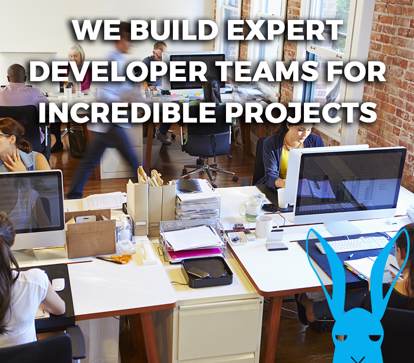 We build expert developer teams for incredible projects