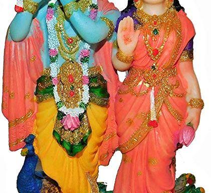 Radha Krishna on Lotus