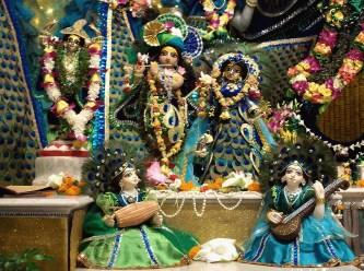 Image result for photos of gowri poornima in  ishkon radhakrishnan temple in bangalore
