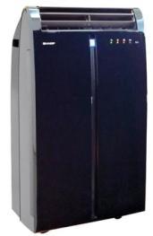 Harga AC Portable Sharp CV-P09GRV Black