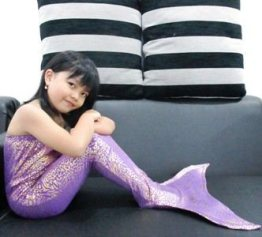Harga Kostum Mermaid Jenis Glitter Sisik