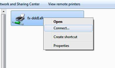 Install Printer di Jaringan LAN