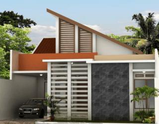 Model Atap Rumah Sandar