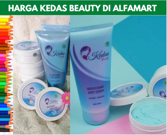 Harga Kedas Beauty di Alfamart
