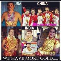 Permintaan Tinggi dari China & India Melonjakkan Harga Emas