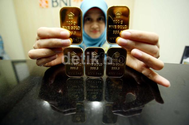 Sudah Seminggu Harga Emas Batangan Antam Stagnan di Rp 549.000/Gram