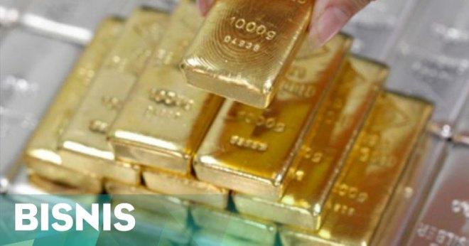 Harga emas naik terdorong komentar The Fed
