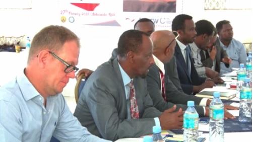 Shir Lagu Gorfeeyey Mashaariicda Biyo-ballaadhinta Hargeysa oo ka Qabsoomay Caasimadda Somaliland