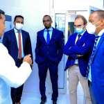 Dorian Kivumbi, Madaxa Mashaariicda Horumarinta ee Xafiiska Midawga Yurub (EU) ee Somaliland/ Somalia oo Booqasho ku yimid Wakaaladda Biyaha Hargeysa