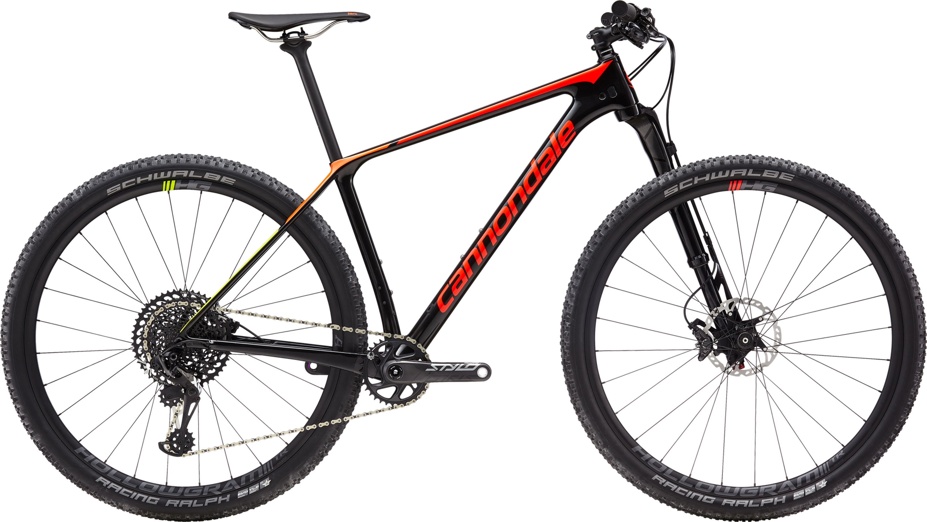 Cannondale F Si 2 Carbon Mens Mountain Bike In Black