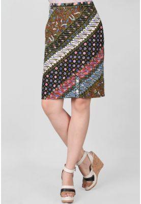 Model Rok Span Batik Pendek Terbaru